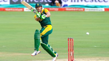 Pakistan vs South Africa: दक्षिण अफ्रीकी कप्तान फाफ डु प्लेसिस ने सरफराज अहमद के नस्ली टिप्पणी पर दिया बड़ा बयान