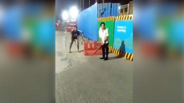 क्रिकेट से संन्यास लेने के बाद मास्टर ब्लास्टर ने यहां की बल्लेबाजी, देखें Video