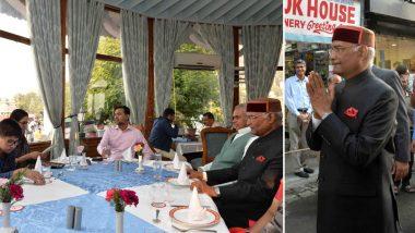 शिमला के रेस्त्रां में राष्ट्रपति रामनाथ कोविंद ने किया नाश्ता, किताबें भी खरीदीं और क्रेडिट कार्ड से भरा बिल