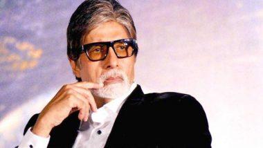 अमिताभ बच्चन दादा साहब फाल्के पुरस्कार से होंगे सम्मानित, केंद्रीय मंत्री प्रकाश जावडेकर ने ट्वीट कर दी बधाई