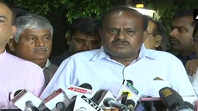 एच.डी.कुमारस्वामी ने आयकर विभाग की छापेमारी को बताया 'बदले की राजनीति'