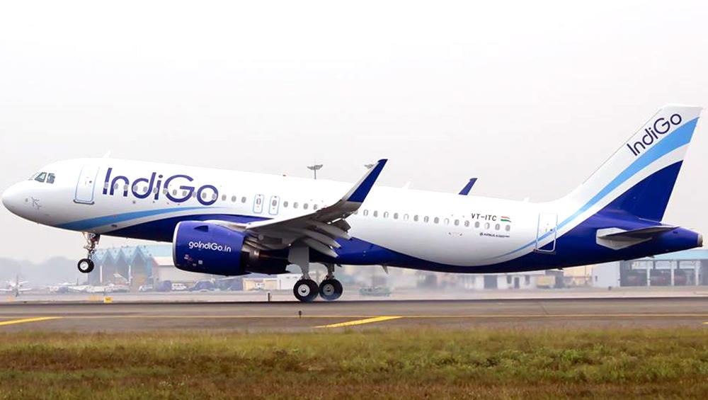IndiGo के विमान की इमरजेंसी लैंडिंग, उड़ान भरने के बाद फायर अलार्म बजने से मचा हडकंप