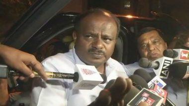 VIDEO: कर्नाटक विधानसभा में CM कुमारस्वामी के टेबल पर देखा गया उनका इस्तीफा, CMO ने बताया फेक