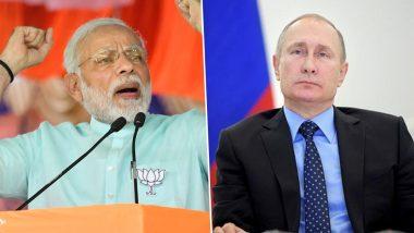 रूस: पुतिन से मिलेंगे पीएम नरेंद्र मोदी, इन पांच मुद्दों पर होगी चर्चा