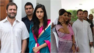 राहुल गांधी और कांग्रेस विधायक अदिति सिंह की शादी महज अफवाह, देखें वायरल हुई तस्वीरें