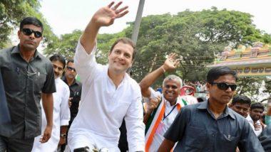 यूपी: राहुल गांधी हार के बाद पहली बार 10 जुलाई को जायेंगे अमेठी, पार्टी के कार्यकर्ताओं से करेंगे मुलाकात