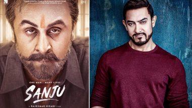 फिल्म 'संजू' में संजय दत्त का किरदार निभाना चाहते थे आमिर खान