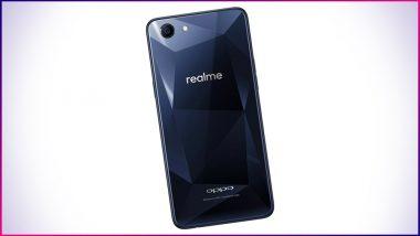ओप्पो ने लॉन्च किया 6 जीबी रैम और 128 जीबी स्टोरेज वाला नया स्मार्टफोन रियलमी 1