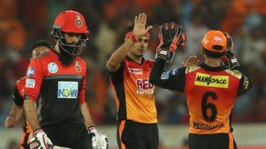 IPL 2018: विराट की टीम रोमांचक मैच में हारी, हैदराबाद प्लेऑफ में पहुंचने वाली पहली टीम बनी