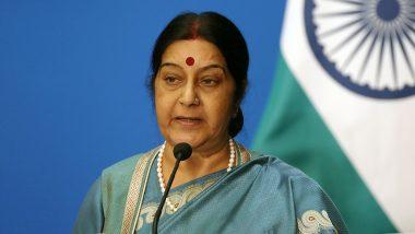 बालाकोट हवाई हमले में कोई पाकिस्तानी सैनिक या नागरिक नहीं मारा गया: सुषमा स्वराज, देखें VIDEO