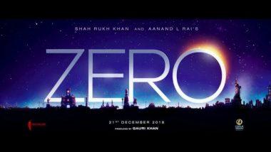 फिल्म 'जीरो' का क्लाइमैक्स शूट करने के लिए नासा पहुंचे शाहरुख खान और अनुष्का शर्मा