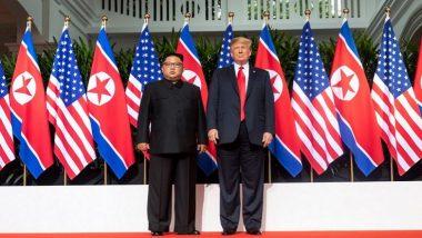 डोनाल्ड ट्रंप-किम मुलाकात: दोनों ने की 50 मिनट तक सकारात्मक चर्चा, नेताओं ने कहा दोनों देश मिलकर निकालेंगे हर समस्या का हल