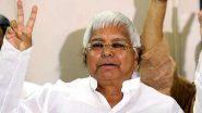 बिहार: लालू यादव 11वीं बार चुने गए  RJD के राष्ट्रीय अध्यक्ष