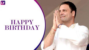 Happy Birthday राहुल गांधी: 48 के हुए कांग्रेस अध्यक्ष, देखें उनकी कुछ अनदेखी तस्वीरें