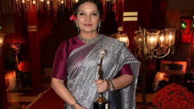 फिल्म 'संजू' में रणबीर के अभिनय से काफी प्रभावित हुई शबाना आजमी