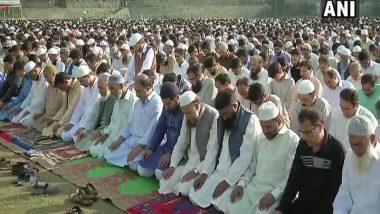 ईद उल फितर: देशभर में आज मनाई जा रही है ईद, राष्ट्रपति कोविंद और पीएम मोदी ने दी बधाई