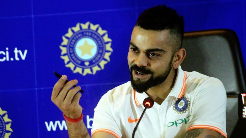 कप्तान कोहली ने किया डांस, देखते रह गए राहुल और धोनी