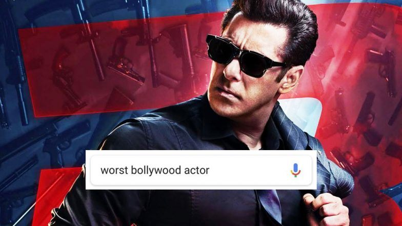 Worst Bollywood Actor : गूगल ने सलमान खान को बताया सबसे खराब अभिनेता