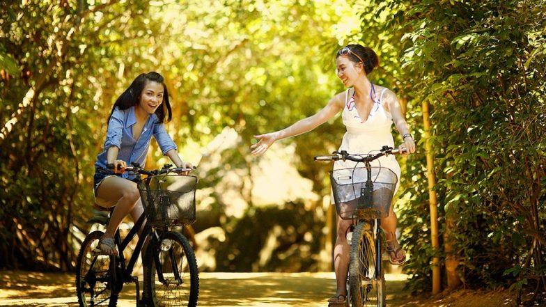 साइकिल चलाएं, 250 ग्राम कार्बन डाइआक्साइड से खुद को बचाएं