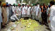 प्रदर्शनकारी किसानों ने दिल्ली की ओर फिर से यात्रा शुरू की