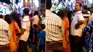 भीड़ में नाबालिग लड़की के साथ कर रहा था दरिंदा गंदी हरकत, Video हुआ वायरल