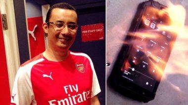 चार्जिंग के दौरान स्मार्टफोन की बैटरी फटी, क्रैडल फंड के CEO ने गंवाई जान