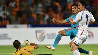 इंटरकोंटिनेंटल कप : अपने 100वें मैच में छेत्री की दमदार हैट्रिक, भारत ने चीनी ताइपे को 5-0 से हराया