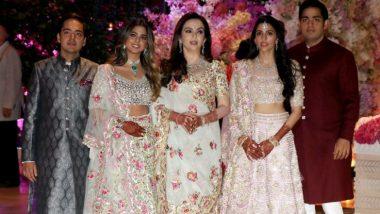 मुकेश अंबानी ने बेटी ईशा अंबानी की शादी का कार्ड बदरीनाथ-केदारनाथ में भगवान के चरणों में भेंट किया