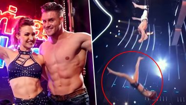 America's Got Talent: हवा में पति- पत्नी स्टंट कर रहे थे, अचानक हाथ छूटा और लोग चीख पड़ें: Video