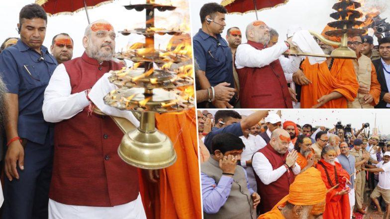 बिहार में जारी सियासी उठापटक के बीच अमित शाह गुरुवार को जाएंगे पटना, 2019 के प्लान पर नीतीश कुमार से करेंगे चर्चा