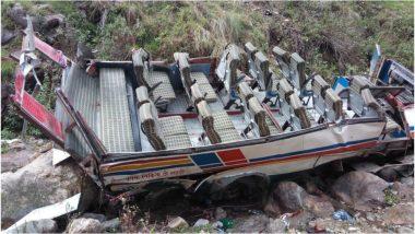 बड़ा हादसा: उत्तराखंड में गहरी खाई में गिरी बस, 47 यात्रियों की मौत