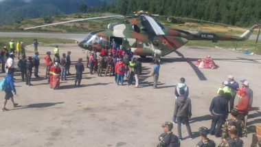 कैलाश मानसरोवर यात्रा: एयरलिफ्ट कर निकाले गए 883 तीर्थयात्री, बचाव कार्य जारी