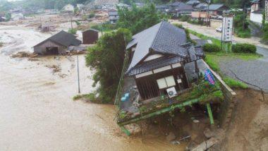 जापान में भारी बारिश: मृतकों की संख्या 81 हुई, राहत बचाव कार्य जारी
