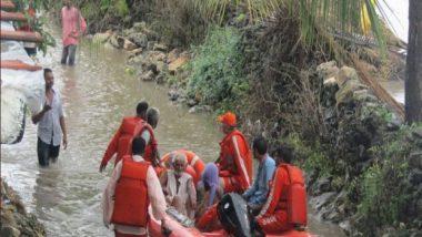 महाराष्ट्र के ठाणे में NDRF ने स्थानीय बचाव बल को प्रशिक्षण दिया
