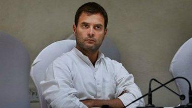 बिहार: आतंकी मसूद अजहर को 'जी' कहने पर कांग्रेस अध्यक्ष राहुल गांधी के खिलाफ शिकायत दर्ज