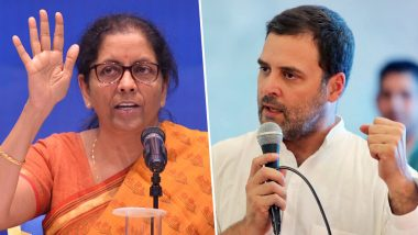 राफेल सौदे पर बोली रक्षा मंत्री निर्मला सीतारमण, कहा-पैसा न बना पाने के कारण कांग्रेस पार्टी परेशान है