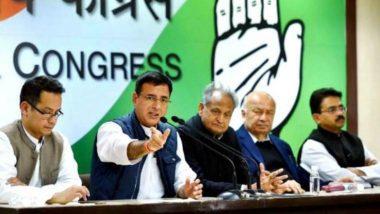 विधानसभा चुनाव 2018: प्रेस कांफ्रेंस के समय परिवर्तन पर कांग्रेस ने EC को घेरा, स्वतंत्रता पर उठाए सवाल