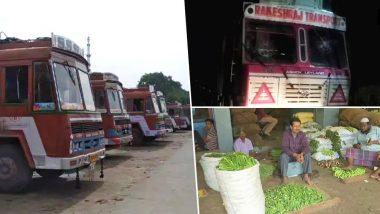 ट्रक हड़ताल: त्योहारी मौसम में मध्य प्रदेश में ट्रांसपोर्टरों की हड़ताल से आपूर्ति ठप