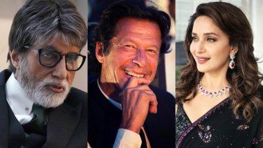 पाकिस्तान चुनाव 2018: इमरान खान की पार्टी अमिताभ और माधुरी के नाम पर मांग रही है वोट