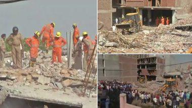 ग्रेटर नोएडा बिल्डिंग हादसा: बिल्डर सहित 3 गिरफ्तार, जानिए 5 बड़े UPDATES