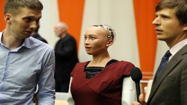 रोबोट सोफिया को भी खूब पसंद आया भारत, कहा बेहद खूबसूरत और रंगीन देश