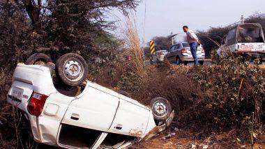 मध्य प्रदेश: कार हादसे में दो पत्रकारों की मौत, दो घायल
