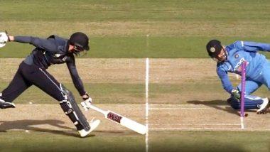 VIDEO: इंग्लैंड के खिलाफ भले ही टीम इंडिया सीरीज हारी मगर MS Dhoni के इस रन-आउट ने सबका दिल जीत लिया
