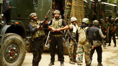 जम्मू-कश्मीर: आतंकी हमले में पुलिसकर्मी शहीद, आतंकियों को नेस्तनाबूद करने के लिए सुरक्षाबलों ने पूरे इलाके को घेरा