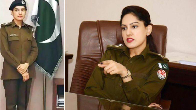 बला की खूबसूरत है पाकिस्तान की ये पुलिस अधिकारी, देखें तस्वीरें