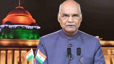 राष्ट्रपति रामनाथ कोविंद ने देश के नागरिकों दी ईद-उल-अजहा की शुभकामनाएं, कहा- ईद का त्योहार प्रेम और मानव सेवा का प्रतीक