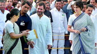 प्रियंका के साथ दो दिवसीय दौरे पर अमेठी जाएंगी सोनिया गांधी, जीत के लिए मतदाताओं का जताएंगी आभार