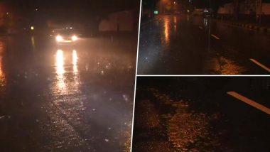 दिल्ली-एनसीआर में भारी बारिश, कई इलाकों में जलभराव की समस्या