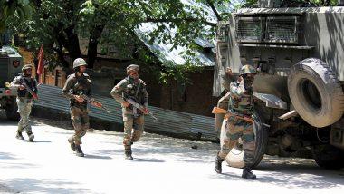 जम्मू-कश्मीर: मजगुंड में सुरक्षाबलों ने कई आतंकियों को घेरा, मुठभेड़ जारी
