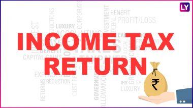 Income Tax Return For AY 2020-21: इनकम टैक्स रिटर्न्स फाइल करने के लिए चाहिए ये आवश्यक डाक्यूमेंट्स, जानें अंतिम तिथि और अन्य डिटेल्स